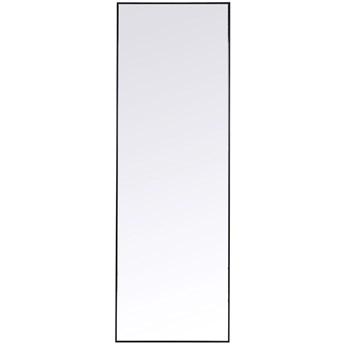 Lustro wiszące Bella 30x130 cm czarne