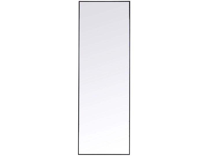 Lustro wiszące Bella 30x130 cm czarne Ścienne Lustro z ramą Prostokątne Pomieszczenie Garderoba