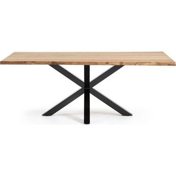 Stół Arya 100x220 cm drewniano-czarny