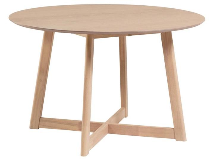Stół rozkładany Maryse ∅120 cm jasnobrązowy