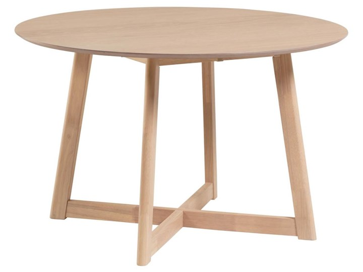 Stół rozkładany Maryse ∅120 cm jasnobrązowy Kategoria Stoły kuchenne Rozkładanie Rozkładane