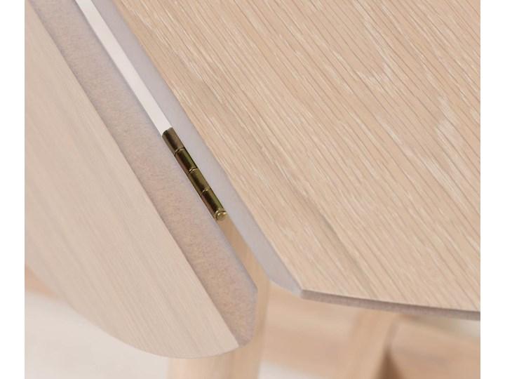 Stół rozkładany Maryse ∅120 cm jasnobrązowy Rozkładanie Rozkładane Kategoria Stoły kuchenne