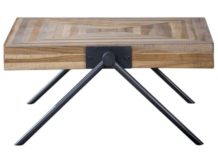 Stolik kawowy Balance 70x70cm drewniany Drewno Kształt blatu Prostokątne Kategoria Stoliki i ławy