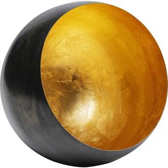 Świecznik Bowl Ø30 cm czarno-złoty