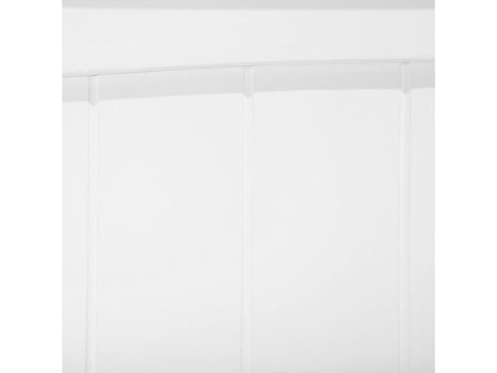 Łóżko dziecięce piętrowe białe drewniane z drabinką 90 x 200 cm Skandynawski design Rozmiar materaca 90x200 cm Łóżko piętrowe Drewno Kategoria Łóżka dla dzieci