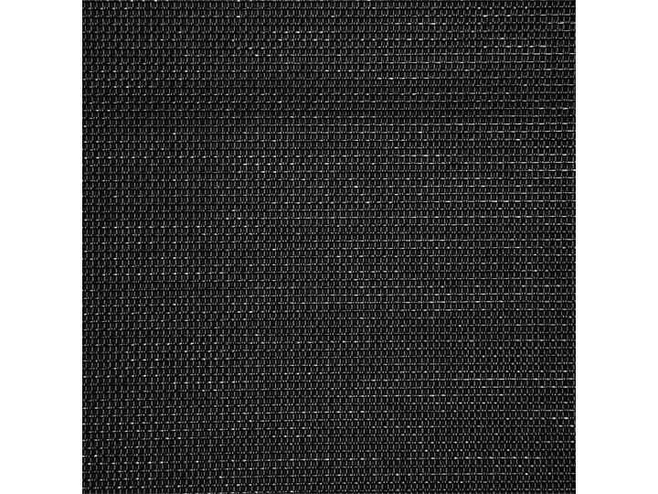 Leżak ogrodowy czarny bujany ogrodowy na płozach z poduszką zagłówkiem Bujane Leżanki Metal Styl Nowoczesny
