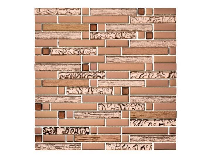 Mozaika Sollana 29,8 x 29,8 cm pink 29,8x29,8 cm Płytki ścienne Kwadrat Płytki kuchenne Płytki łazienkowe Powierzchnia Polerowana