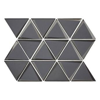 Mozaika Triangle 38 x 28,4 cm dark grey