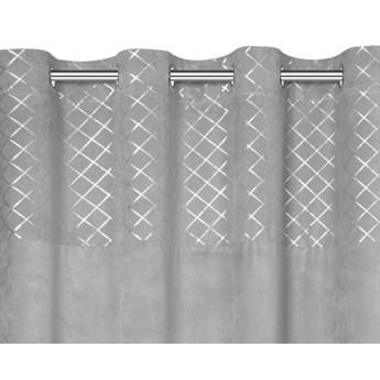 Zasłona gotowa na przelotkach EUROFIRANY 140x250