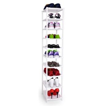 10-piętrowy wysoki regał na buty/stojak Wysokość 140 cm
