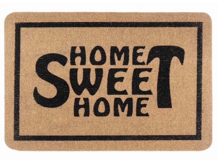 E-floor Wycieraczka Flock Home Sweet Home Brąz Kategoria Wycieraczki Kolor Beżowy