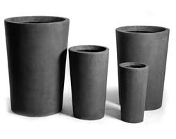 Wysoka donica ogrodowa Vase Lead wysokość 40cm 45021-1