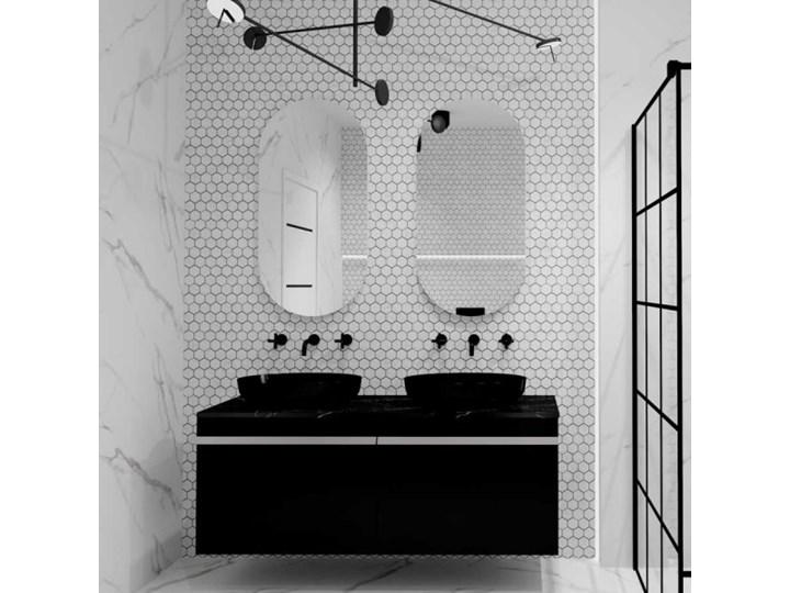 Elita Meble lustro owalne 50/100 cm 167567 Lustro bez ramy Pomieszczenie Łazienka Ścienne Kolor Srebrny