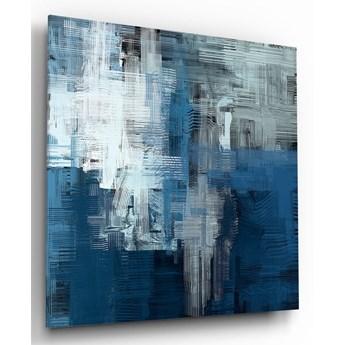 Szklany obraz Insigne Blue Touch, 60x60 cm