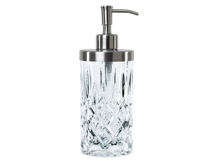 Dozownik do mydła ze szkła kryształowego Nachtmann Noblesse, 375 ml Szkło Dozowniki Metal Stal Kolor Przezroczysty