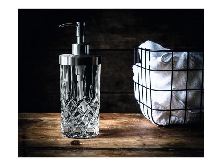 Dozownik do mydła ze szkła kryształowego Nachtmann Noblesse, 375 ml Metal Szkło Stal Dozowniki Kategoria Mydelniczki i dozowniki Kolor Przezroczysty