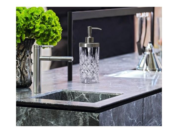 Dozownik do mydła ze szkła kryształowego Nachtmann Noblesse, 375 ml Dozowniki Szkło Stal Metal Kolor Przezroczysty Kategoria Mydelniczki i dozowniki