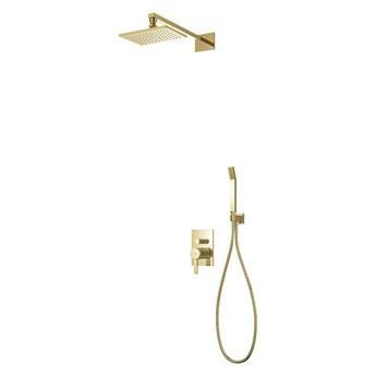 Darling zestaw prysznicowy podtynkowy złoty SYSDA18GL