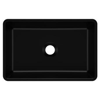 Umywalka nablatowa REVA 45 Czarny