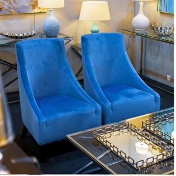 Fotel BERGEN w stylu hamptons