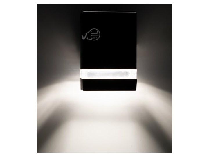 Lampa ogrodowa kinkiet elewacyjny PANAM SOL BLACK GU10 czarny IP44 EDO777367 EDO Garden Line Kinkiet ogrodowy Kategoria Lampy ogrodowe
