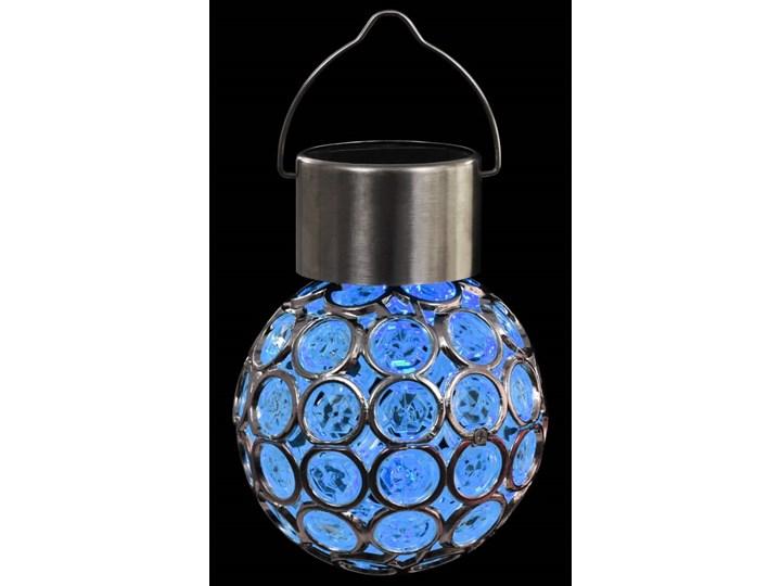 vidaXL Wiszące lampy solarne, 8 szt., LED RGB Lampa LED Lampa solarna Kategoria Lampy ogrodowe