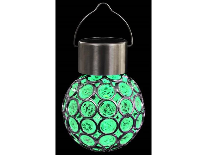 vidaXL Wiszące lampy solarne, 8 szt., LED RGB Lampa solarna Lampa LED Kategoria Lampy ogrodowe