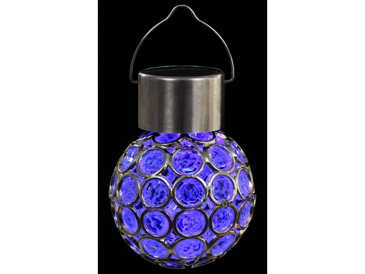 vidaXL Wiszące lampy solarne, 8 szt., LED RGB Lampa LED Kategoria Lampy ogrodowe Lampa solarna Kolor Wielokolorowy