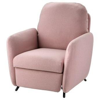 IKEA EKOLSUND Fotel rozkładany, Gunnared jasny różowy, Szerokość: 89 cm