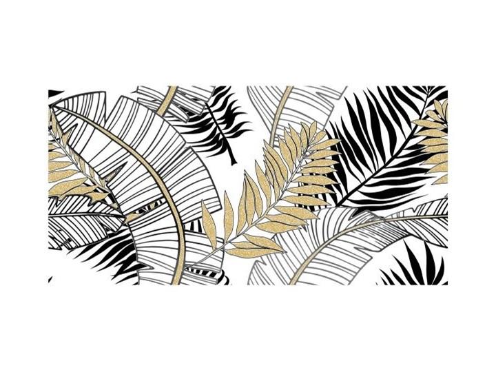 Dekor Leaf Conopy Ceramstic 30 x 60 cm gold Powierzchnia Polerowana Prostokąt Płytki ścienne 30x60 cm Płytka dekoracyjna Kategoria Płytki