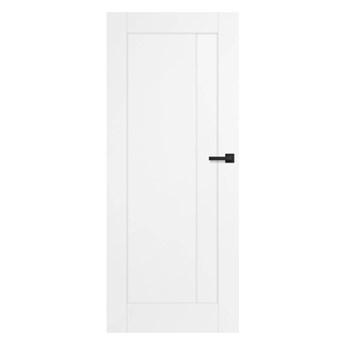 Drzwi pełne Fado 60 lewe białe