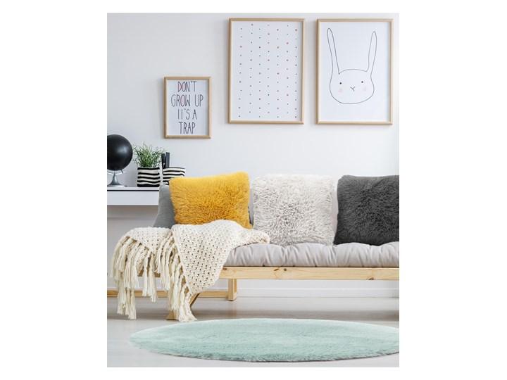 E-floor Poduszka Vicuna Żółta Wzór Jednolity Poliester Aksamit Poduszka dekoracyjna Kwadratowe Kategoria Poduszki i poszewki dekoracyjne