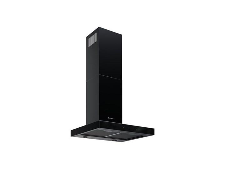 Okap kuchenny VERTA 60.1 BLACK Okap przyścienny Szerokość 60 cm Poziom hałasu 43 dB