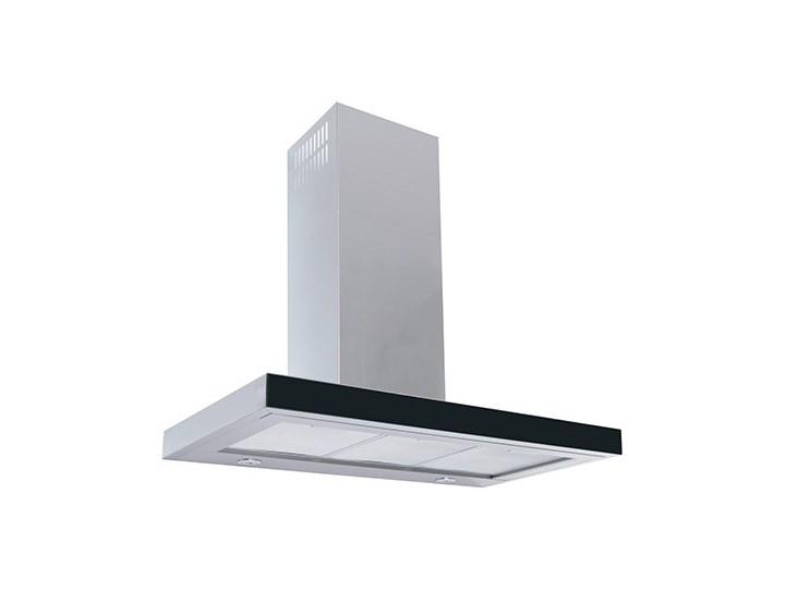 Okap kuchenny Nidaro 90.3 Black Okap przyścienny Szerokość 90 cm Poziom hałasu 64 dB Poziom hałasu 56 dB