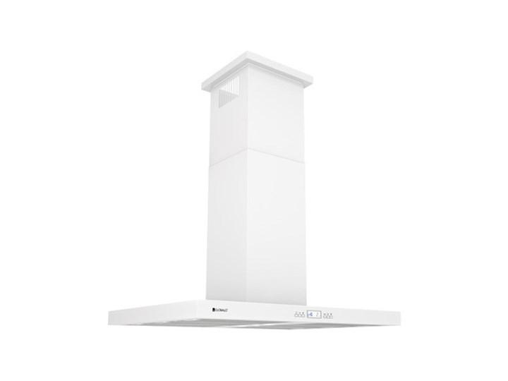 Okap kuchenny Nomina Isola 90.4 Sensor White Szerokość 90 cm Okap wyspowy Poziom hałasu 70 dB