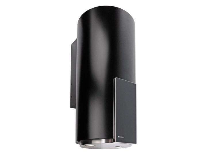 Okap kuchenny Roxano 39.1 Black Okap przyścienny Poziom hałasu 49 dB Poziom hałasu 63 dB