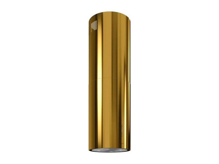 Okap kuchenny Cylindro Isola 39.5 Gold Okap wyspowy Okap przyścienny Poziom hałasu 61 dB