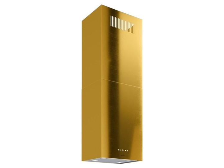 Okap kuchenny Toredo Isola 40.5 Gold Okap wyspowy Sterowanie Elektroniczne Poziom hałasu 62 dB