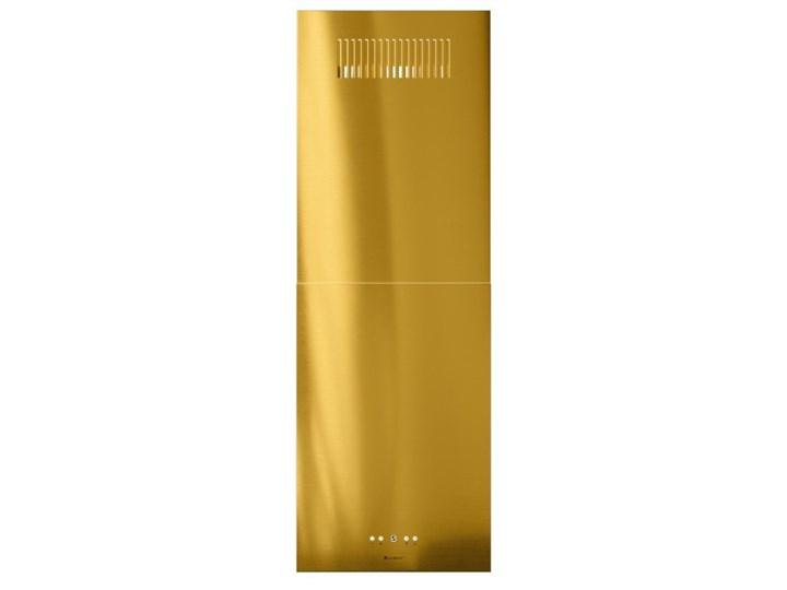 Okap kuchenny Toredo Isola 40.5 Gold Okap wyspowy Sterowanie Elektroniczne Poziom hałasu 67 dB