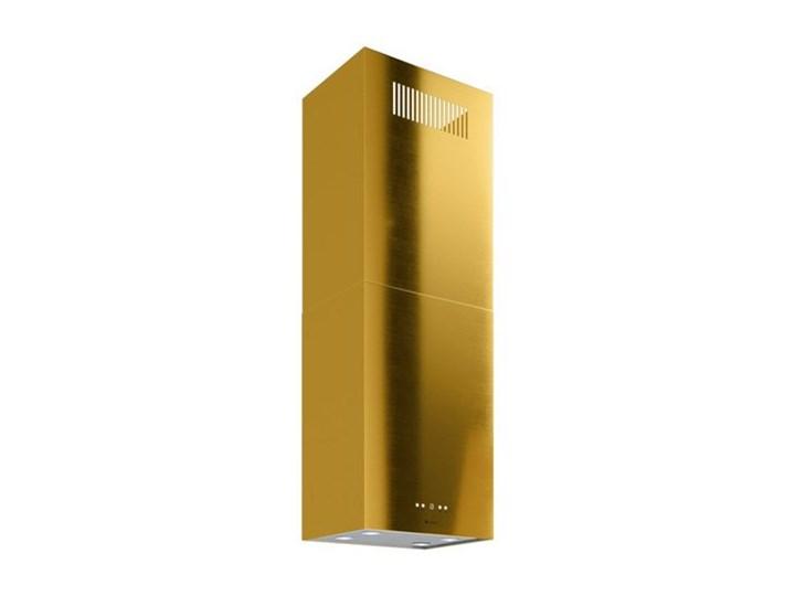 Okap kuchenny Toredo Isola 40.5 Gold Okap wyspowy Sterowanie Elektroniczne