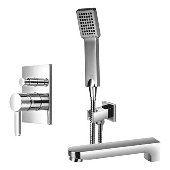 Darling zestaw wannowo-prysznicowy podtynkowy chrom SYSDAW01CR