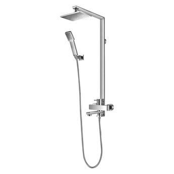 Darling zestaw prysznicowy z deszczownicą chrom DA5034CR