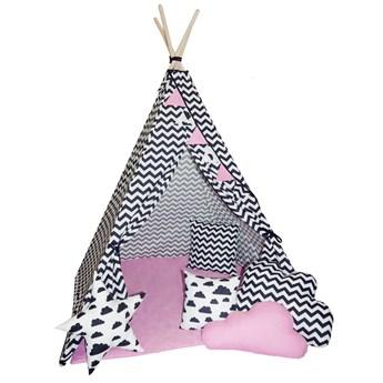 Dziecięcy namiot indiański z 3 poduszkami - Loster