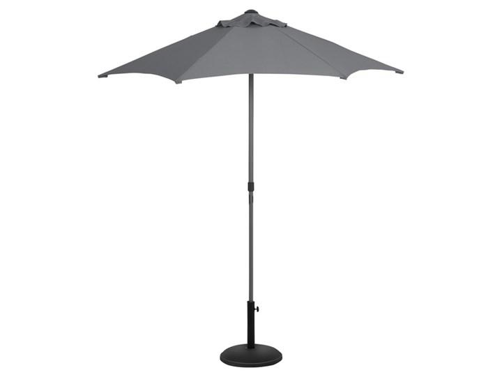 Parasol GoodHome Carambole 200 cm szary Kategoria Parasole ogrodowe