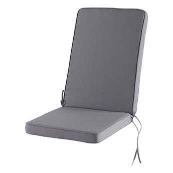 Poduszka na fotel GoodHome Tiga szara
