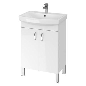 Szafka z umywalką Cersanit Claso 60 cm biała
