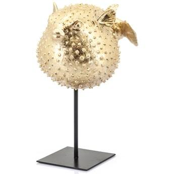 Figurka dekoracyjna Puffy 26x35 cm złota
