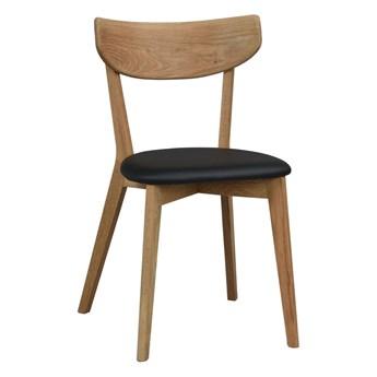 Krzesło Ami 48x80 cm czarne-naturalne