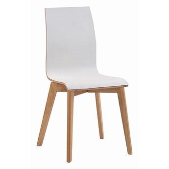 Krzesło Gracy 48x89 cm białe-naturalne