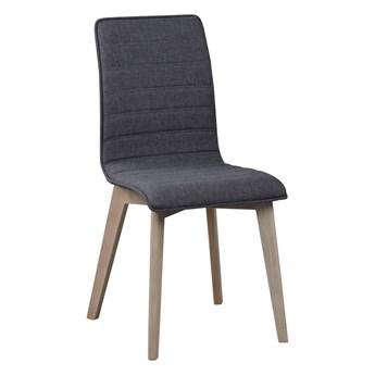 Krzesło Gracy 48x89 cm ciemnoszare-bielone